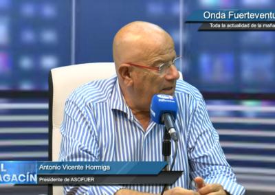 Onda Fuerteventura – Hormiga felicita al Ayuntamiento de Antigua por la disminución de la presión fiscal