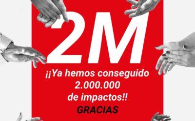 La campaña '¡Vengo a cobrar!' logra casi 2 millones de impactos en televisión, radio, digital y redes